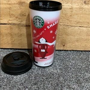 Starbuck coffee cup